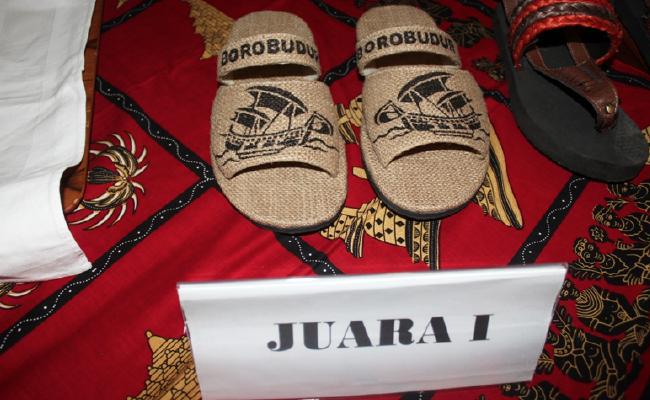 Inilah Juara Sayembara Desain Sandal Borobudur