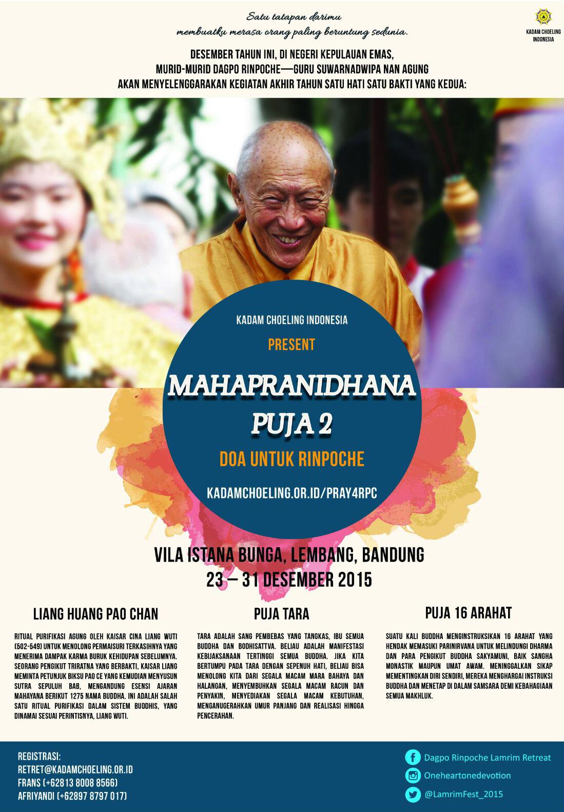 Mahapranidhana Puja 2
