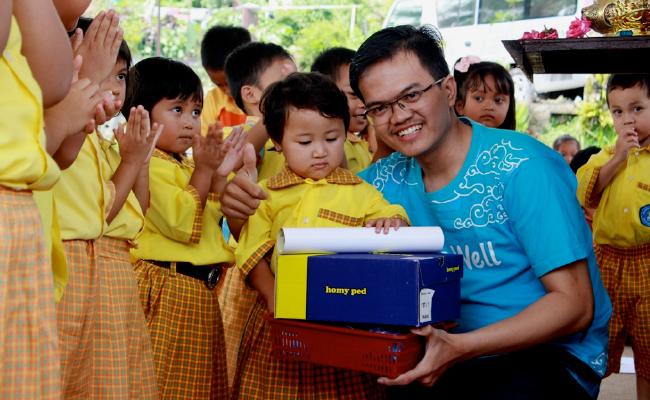 Manfaatkan Liburan Akhir Tahun, Umat Buddha Tangerang Adakan Baksos di Temanggung