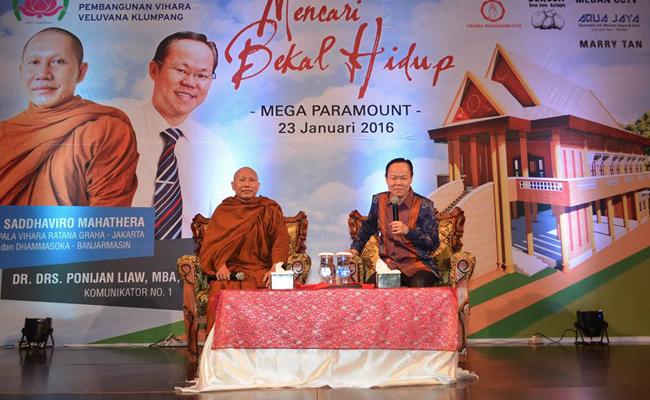 Umat Buddha di Klumpang Bangun Vihara Berkonsep Melayu