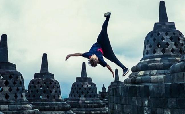 Lakukan Aksi Parkour di Borobudur, Mahasiswa Buddhis Tuntut Red Bull Minta Maaf