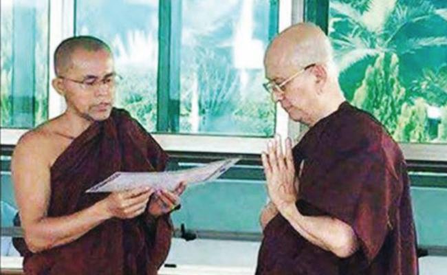 Lengser dari Kursi Presiden Myanmar, Thein Sein jadi Samanera Sementara
