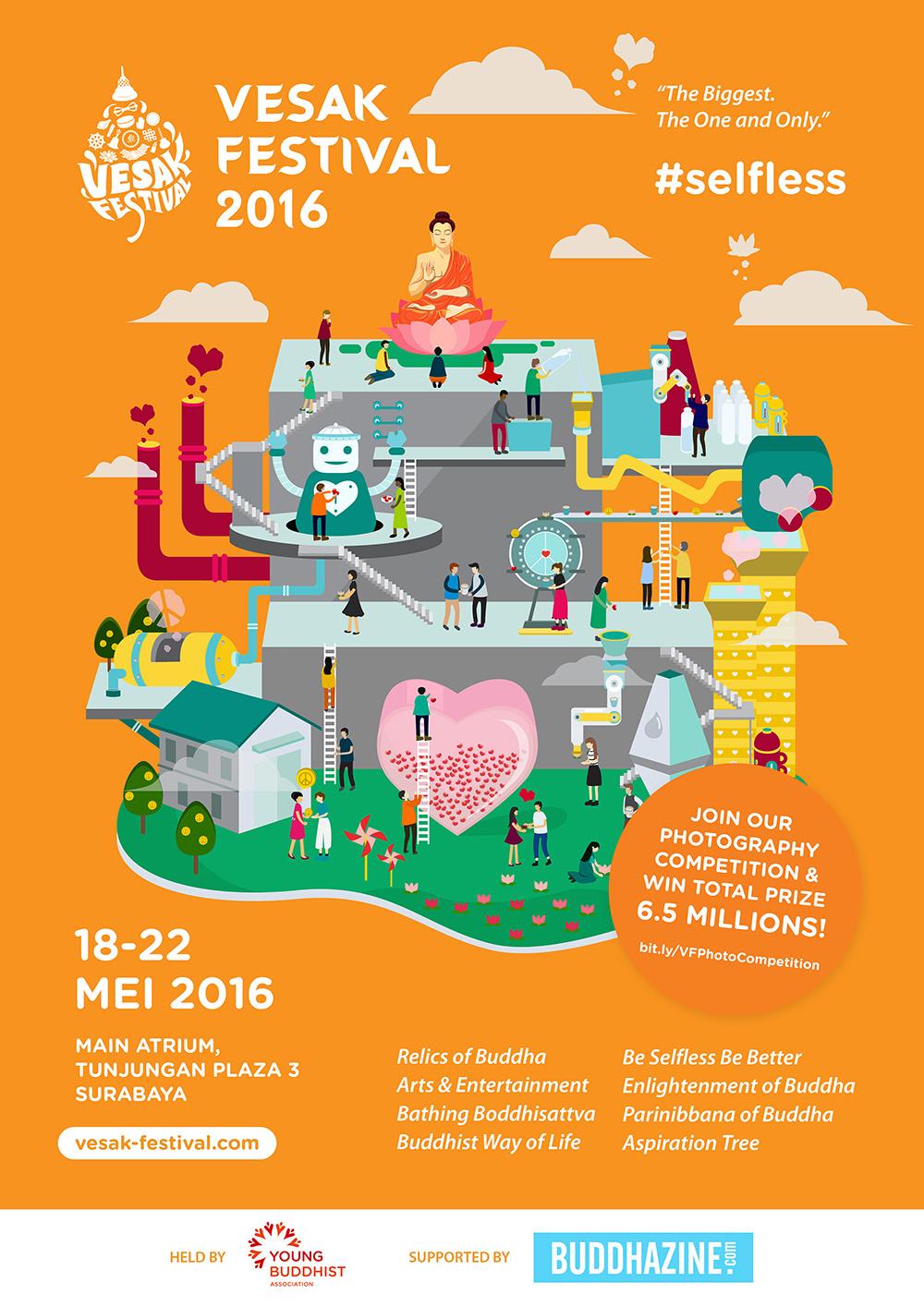 Vesak Festival 2016: SELFLESS