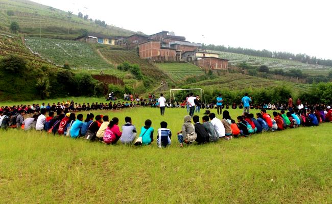 Vihara di Desa Cemara Jadi Saksi Berkumpulnya 250 Pemuda Buddhis dari Temanggung, Semarang, dan Kendal