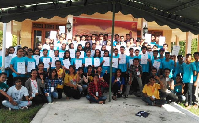 Pelajar dan Mahasiswa Buddhis NTB Deklarasi Bebas Narkoba