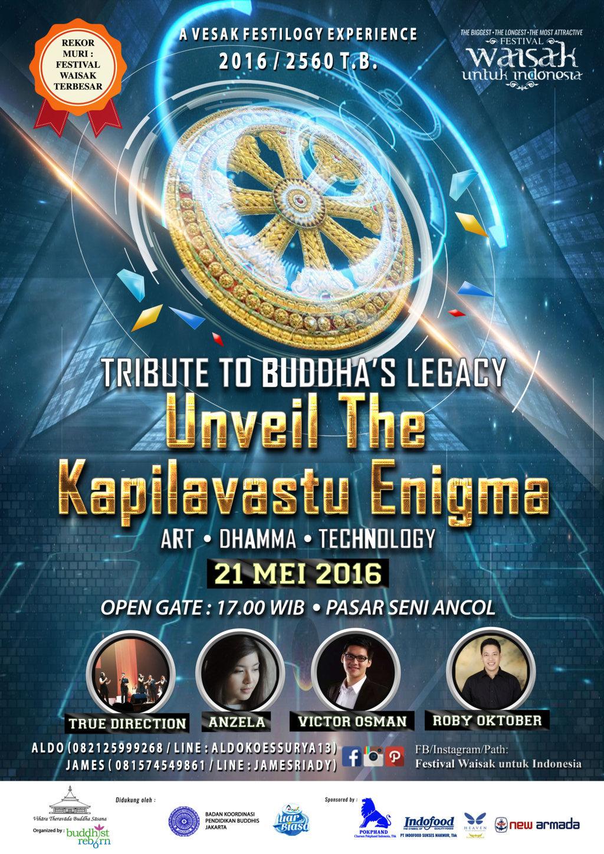 Konser Malam Waisak: Unveil the Kapilavastu Enigma