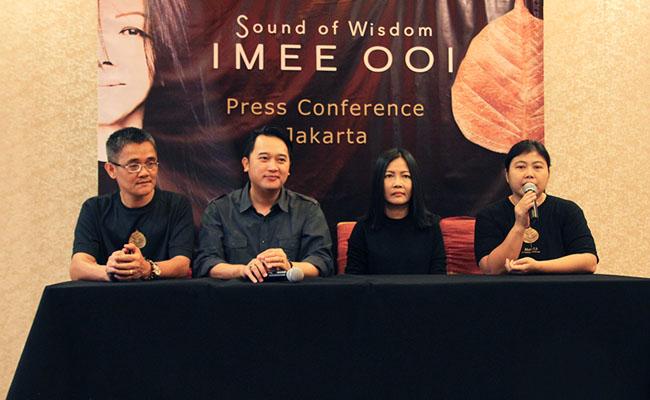 Konser Imee Ooi di Jakarta akan Hadirkan Nada-nada Surgawi