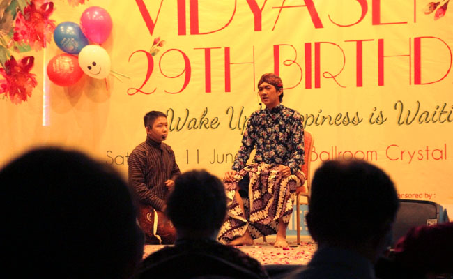Vidyasena Vihara Vidyaloka Yogyakarta Rayakan Ulang Tahun ke-29
