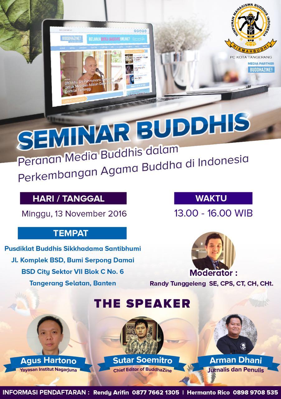 Peranan Media Buddhis dalam Perkembangan Agama Buddha di Indonesia
