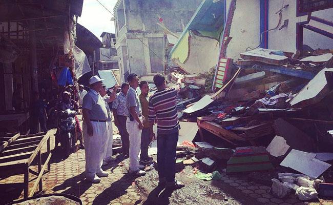Tzu Chi Bergerak Cepat Bantu Korban Gempa Aceh
