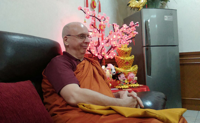 Bhante Dhammika: Agama Buddha akan Tumbuh dengan Baik di Taiwan dan Indonesia