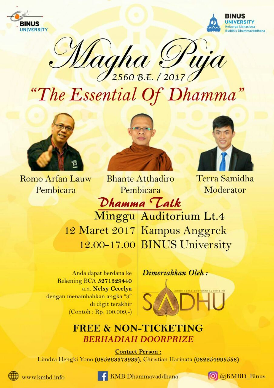 The Essential of Dhamma