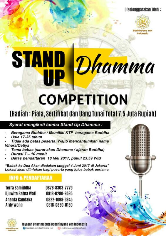 Stand Up Dhamma Competition