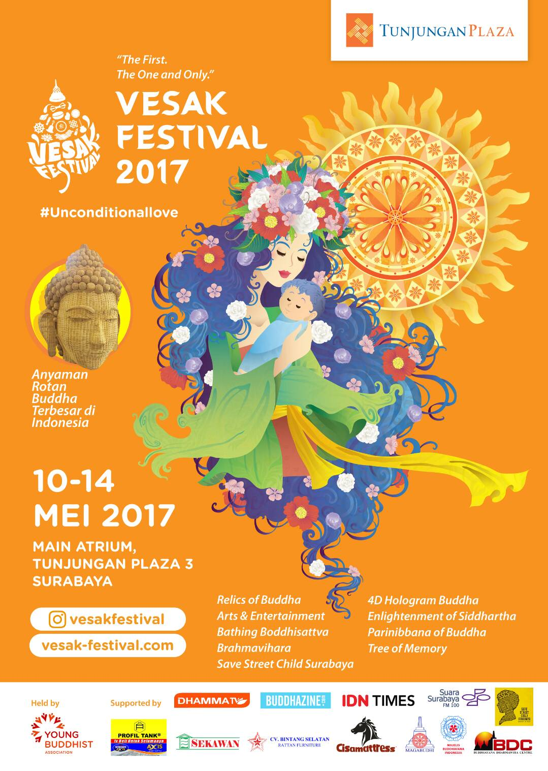 Vesak Festival 2017: Unconditional Love