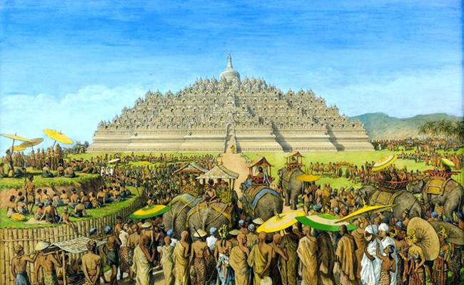 10 Putaran, Peziarah Kuno Mengelilingi Mandala Borobudur