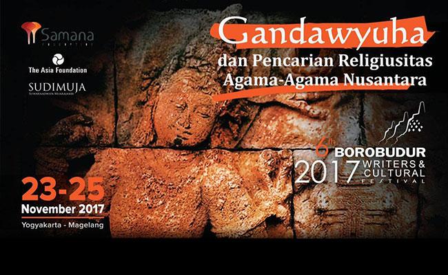 Borobudur Writers and Culture Festival 2017 Siap Dihelat
