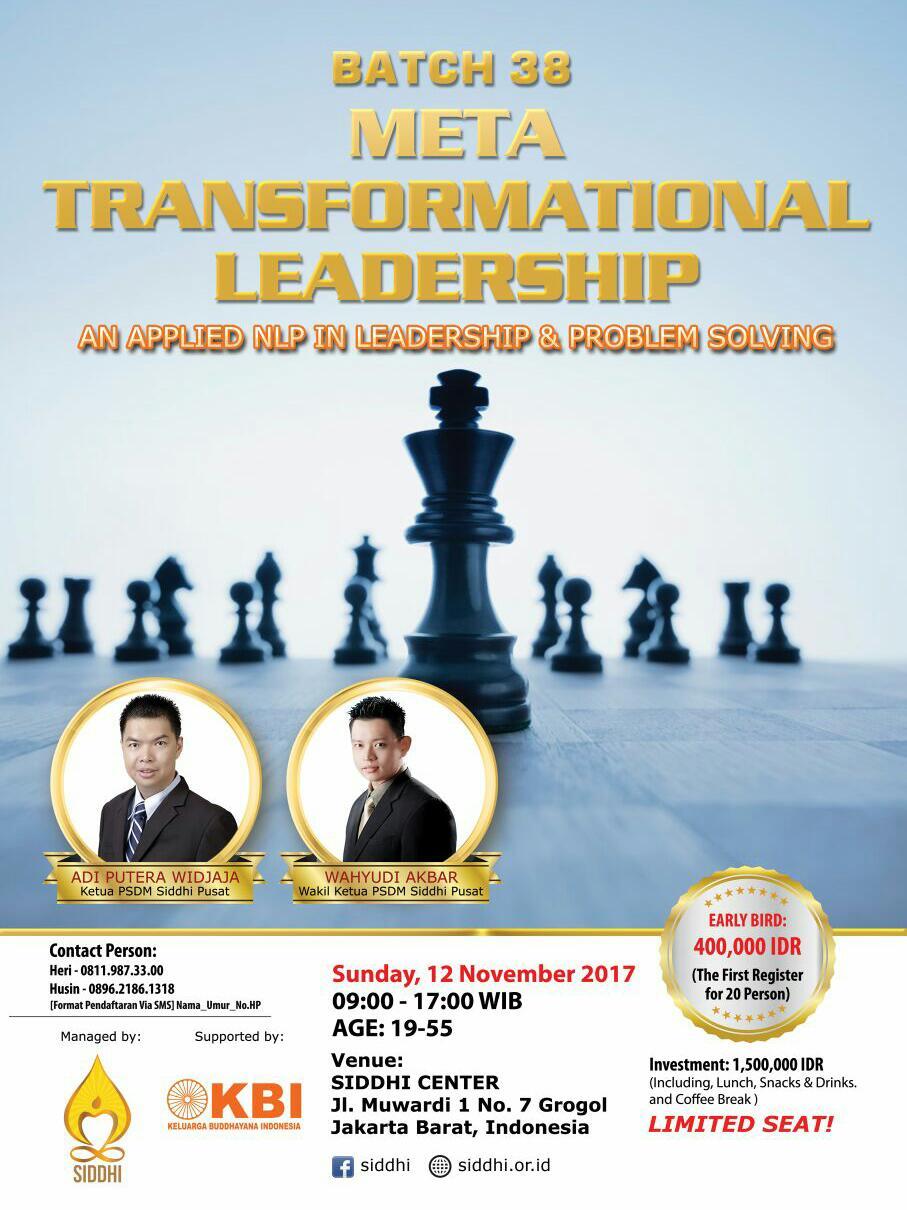 Meta Transformational Leadership