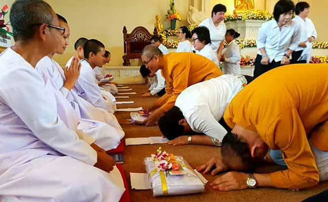 Pengukuhan Atthasilani Theravada Indonesia
