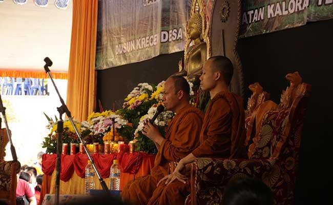 Sangha Dana Tak Harus di Bulan Kathina