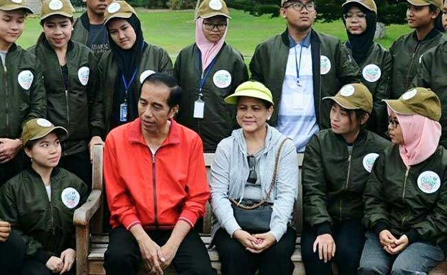 Perbincangan Haru Jesslyn Metta dan Presiden Jokowi