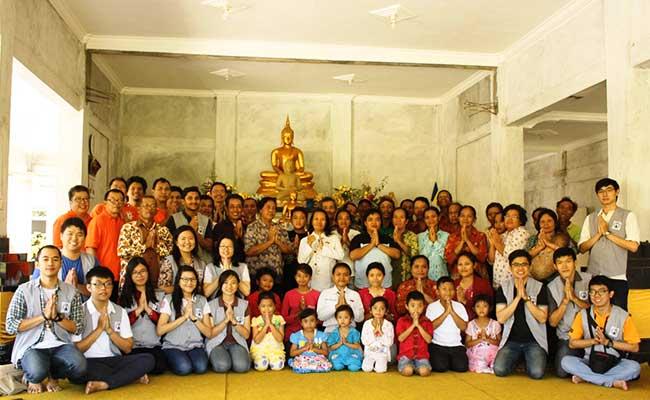 Anjangsana ke Umat Buddha Bumirejo Malang