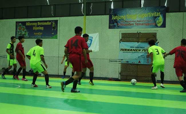 Menyambut Waisak, Pemuda Buddhis Gelar Turnamen Futsal