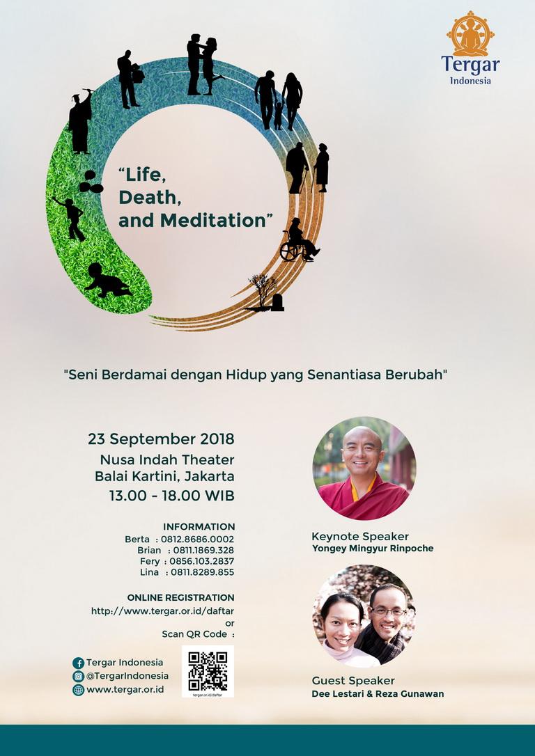 Public Talk: Life, Death, and Meditation