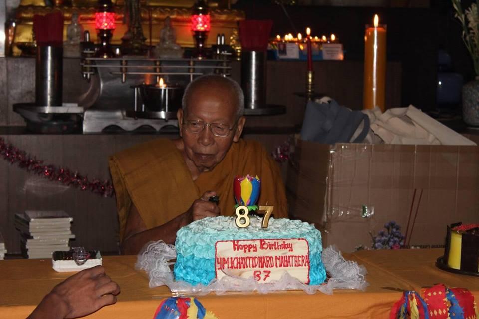 Selamat Ulang Tahun Bhante Khantidharo ke-87