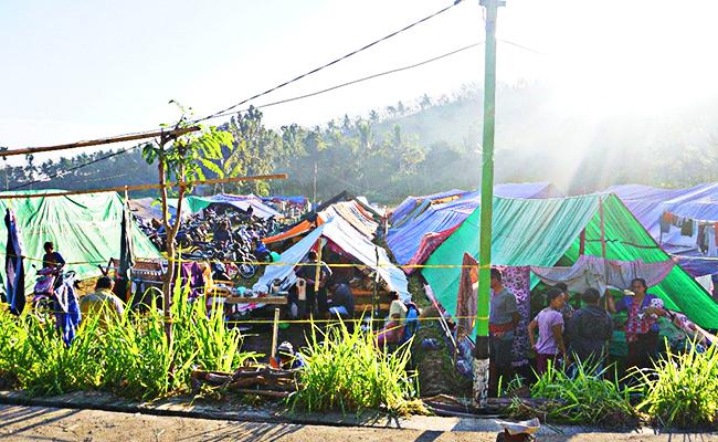 Dua Posko Utama Tanggap Darurat Langsung Disiagakan di Lombok Utara