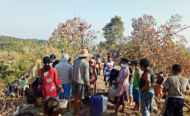 Gempa Terus Mengguncang, Warga Lombok Tetap Beraktifitas