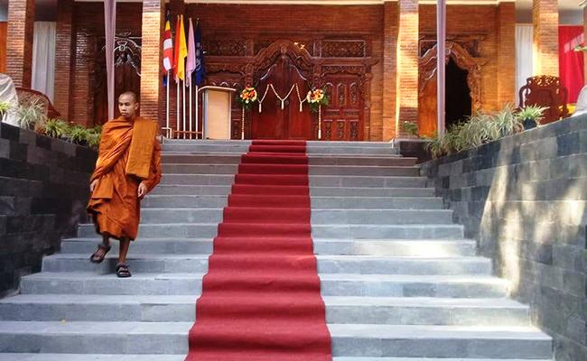 SAGIN Resmikan Tempat Pendidikan Bhikkhu di Gunung Kidul