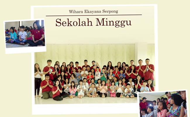 Sekolah Minggu Keluarga Mahasiswa Vidya Buddhis Universitas Pelita Harapan