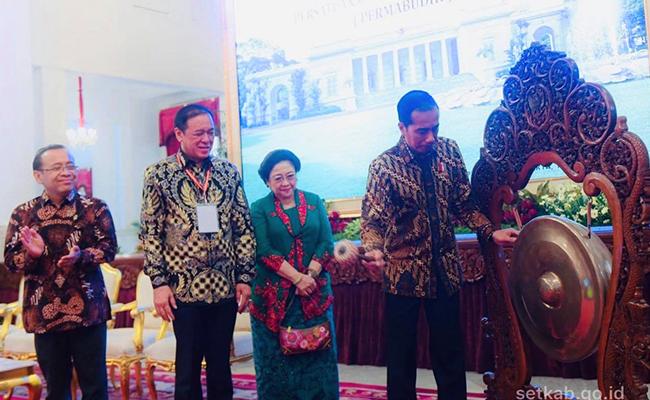 Munas Permabudhi dibuka Presiden Joko Widodo di Istana Negara
