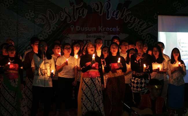 Malam Perpisahan dengan Warga, KMB UI Gelar Pesta Rakyat