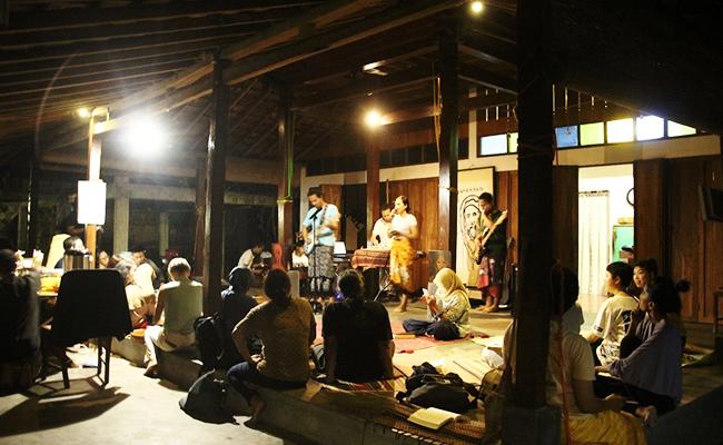 Musik Astakosala Lebur dalam Keindahan di Malam Purnama Centhini