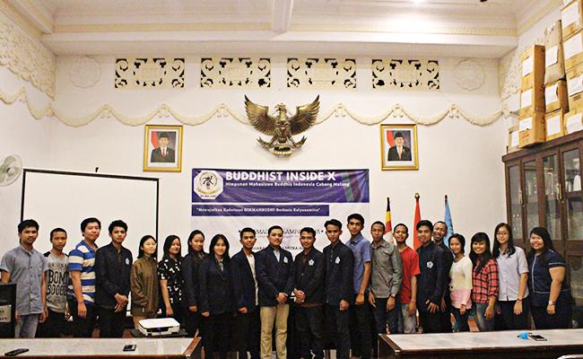 Buddhist Inside X PC HIKMAHBUDHI Malang