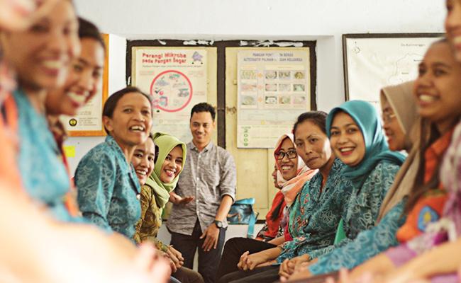 Perdamaian dan Toleransi Sekolah Perempuan di Desa Getas, Temanggung