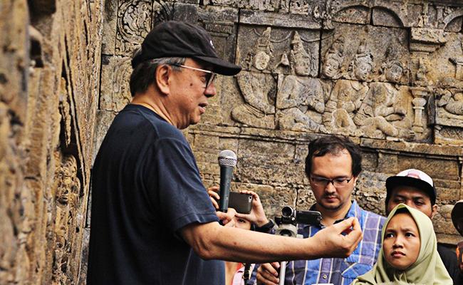 Membaca Relief Borobudur Bersama Salim Lee