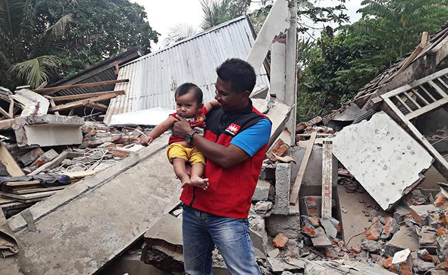 Hati Amirudin Terpanggil untuk Tugas Kemanusiaan di Lombok