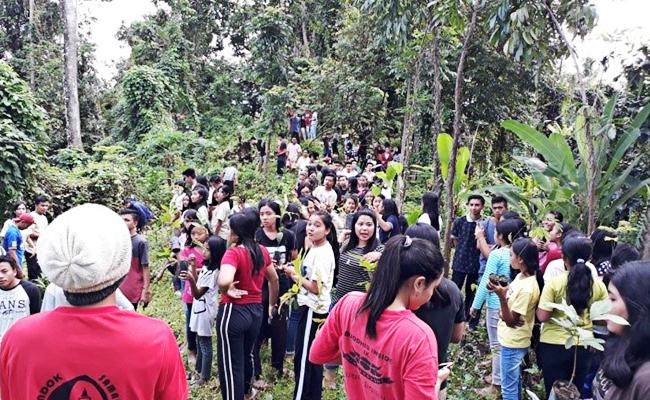 Tanam 1000 Bibit Pohon di Hutan Adat Orong Empak Panasan, Nusa Tenggara Barat