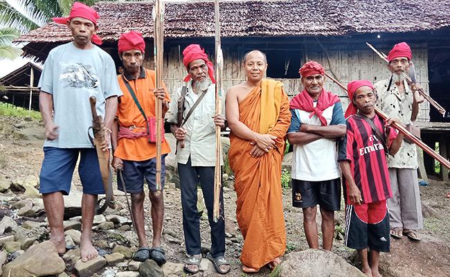 Mengenal Umat Buddha Yamatitam Maluku