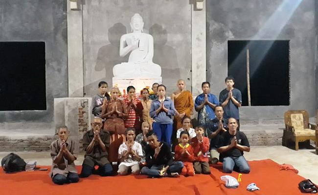 Umat Buddha Vihara Dhamma Manggala, Banyumas, Kini Bisa Waisakan di Vihara Baru