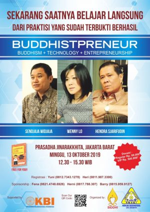 Seminar Buddhistpreneur: Buddhism + Technology + Enterpreneurship