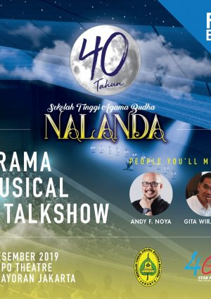 40th Nalanda: Drama Musikal dan Talkshow