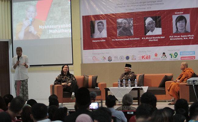 Sarasehan Kebangsaan di Surabaya Ingatkan Kembali Jadi Manusia Indonesia