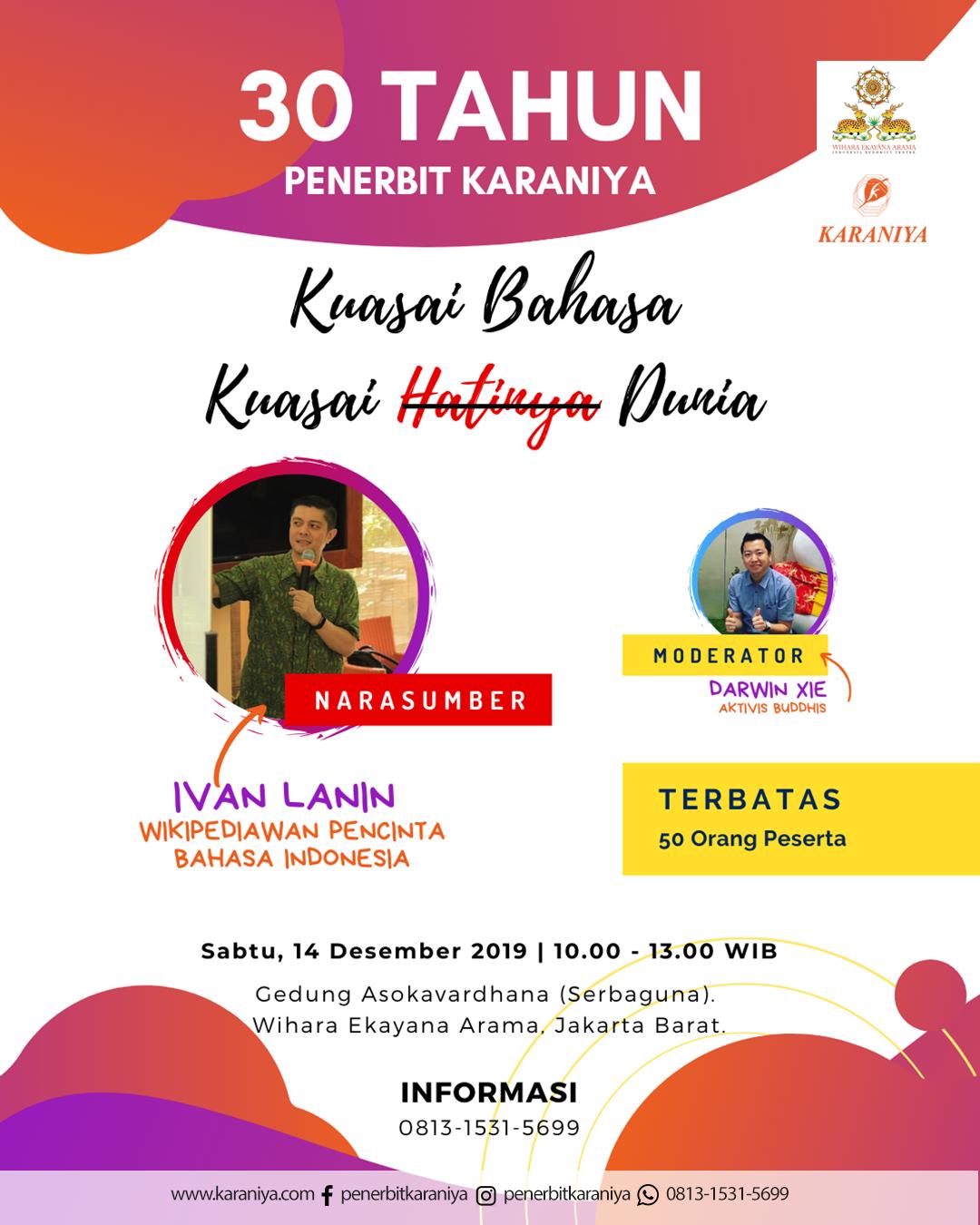 30 Tahun Penerbit Karaniya