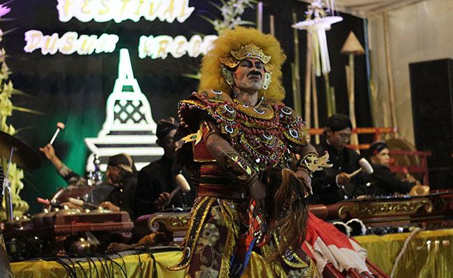 Kemeriahan Festival Dusun Krecek