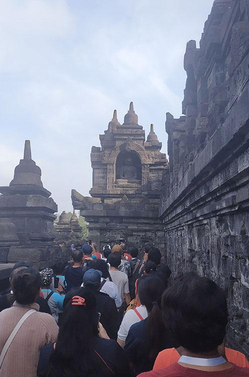 Dari Komodo Hingga Alien, Presentasi Baru Relief di Borobudur