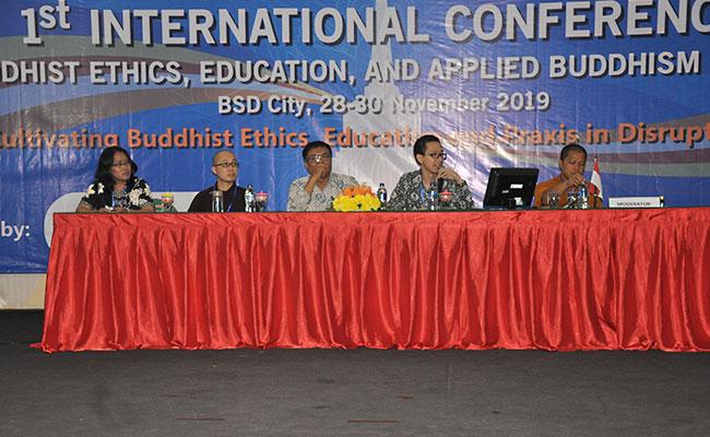 International Conference on Buddhist Ethics, Education, and Applied Buddhis (ICEAB-2019) di STAB Negeri Sriwijaya Tangerang