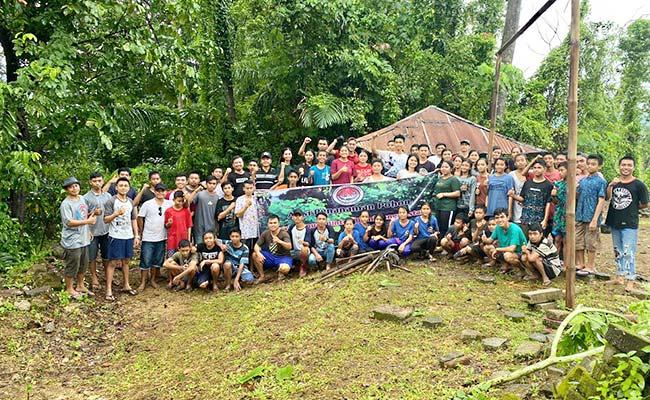 Peduli Kelestarian Hutan Adat, GMI KLU Tanam Seribu Pohon